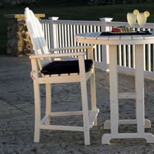Polywood Adirondack Bar Chairs