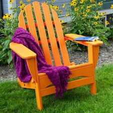 Lovely Polywood Adirondack Chairs