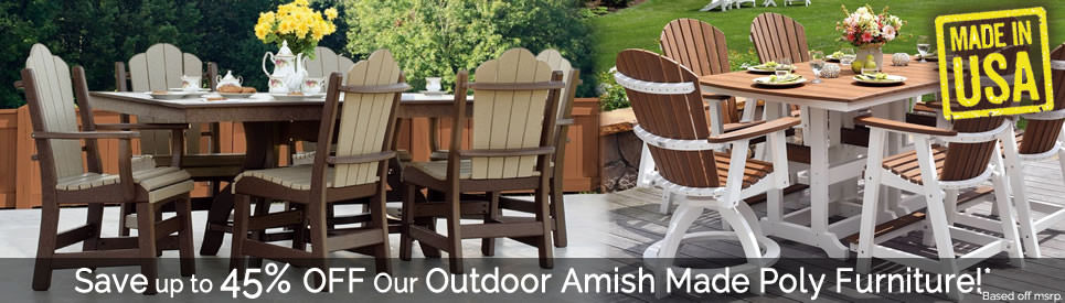 Amish Poly Outdoor Furniture