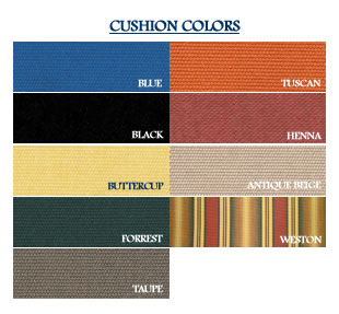 Eagle One Cushion Colors