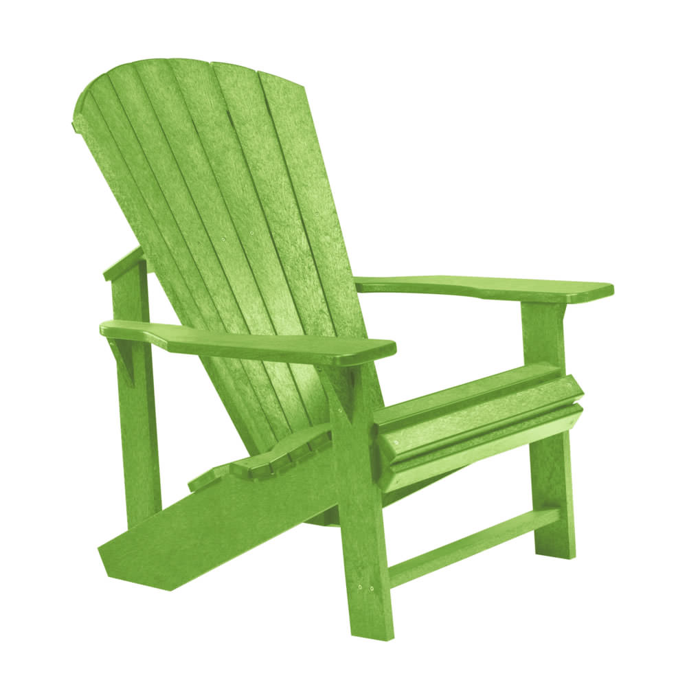 CR Plastics Generations Classic Adirondack Chair   CR Plastics   Collections