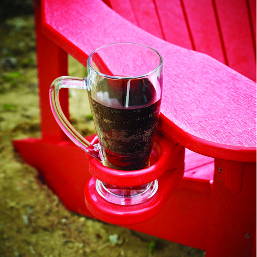 Cr Plastics Generations Adirondack Chair Cup Winegl Holder Poly Holders Accessories