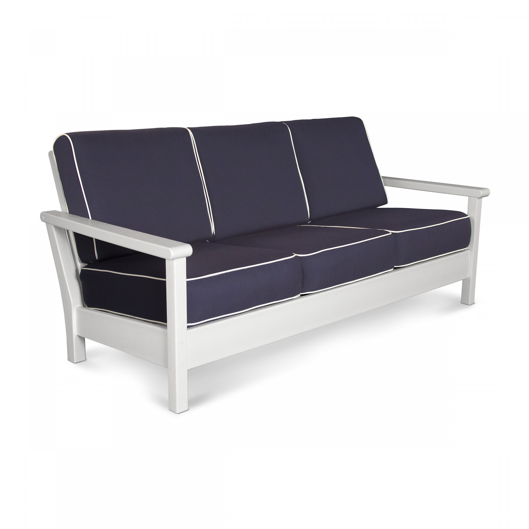 Polywood Harbour Deep Seating Sofa Harbour Deep Seating