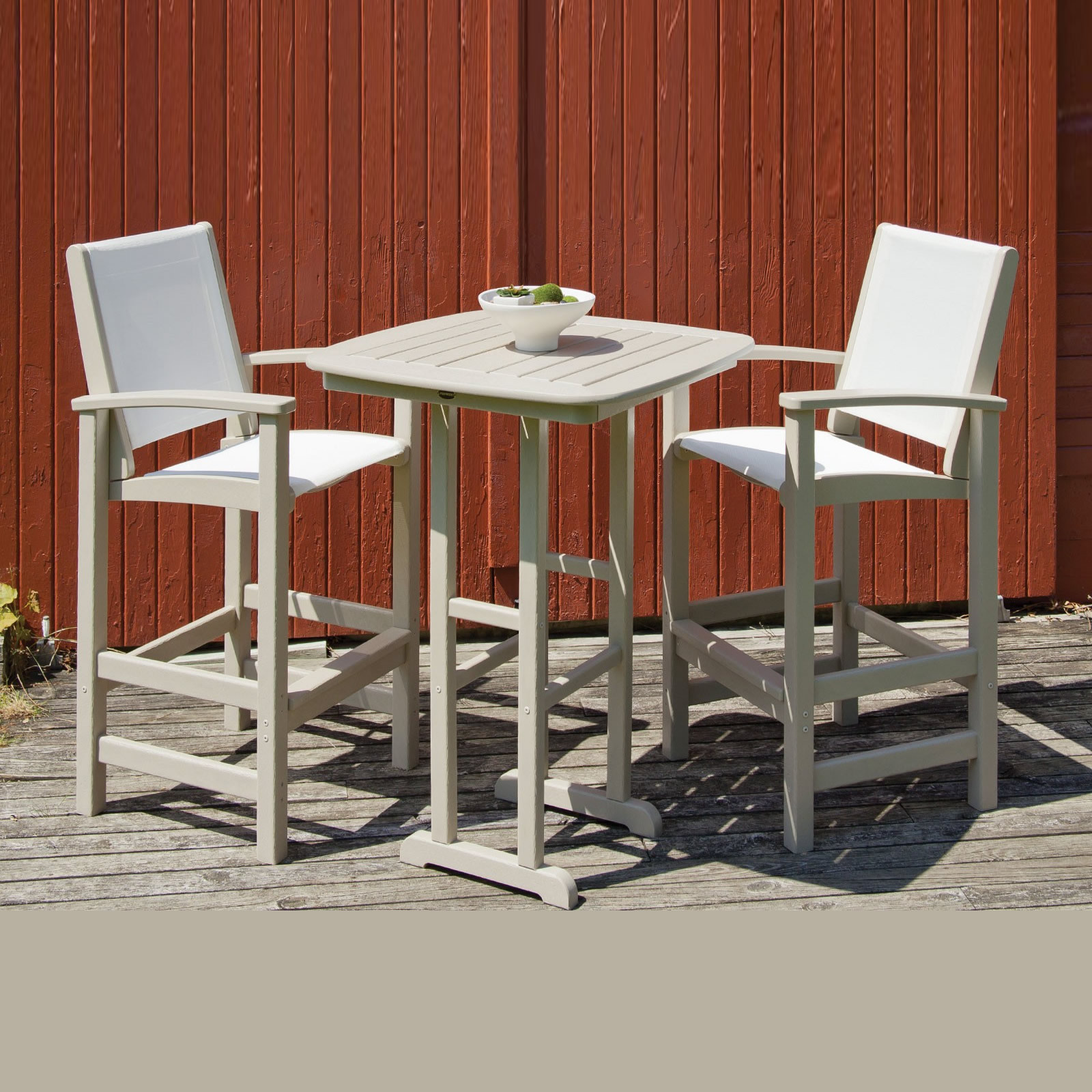 Polywood Coastal Bar Chair Coastal Polywood Outdoor Furniture Collections