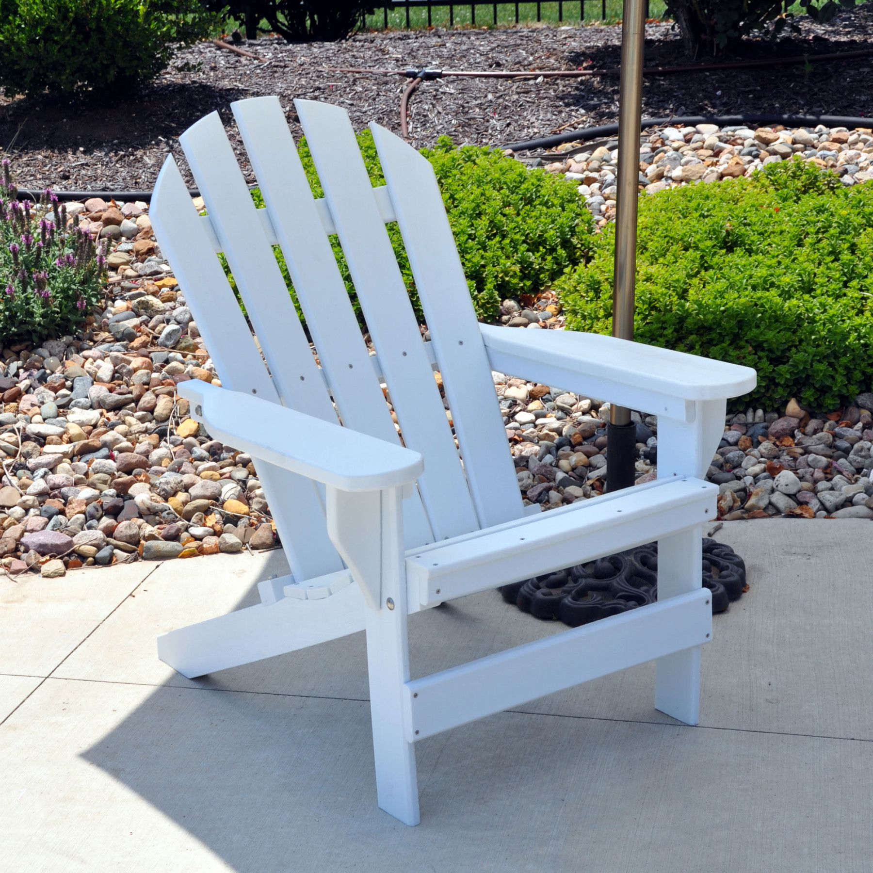 Frog Furnishings Cape Cod Adirondack Chair White