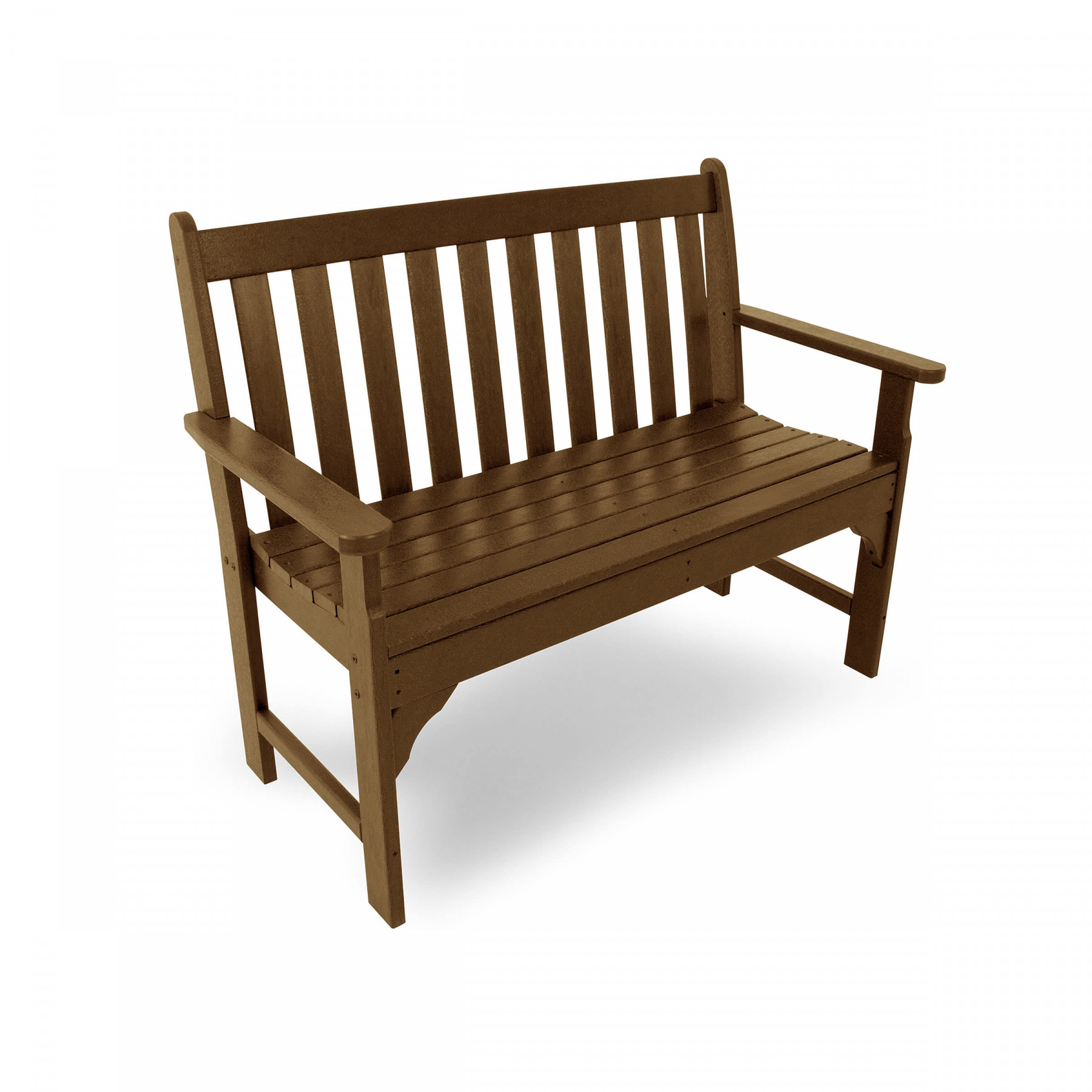 Polywood 48 In Vineyard Bench Vineyard Collection Polywood Outdoor Furniture Collections