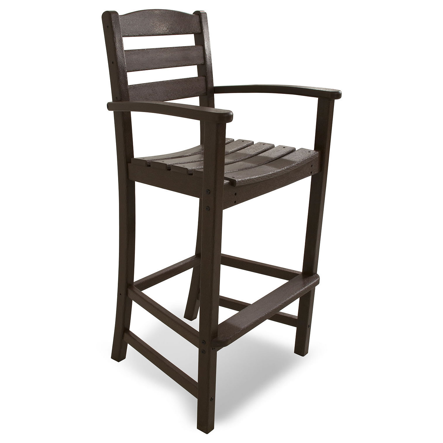 Polywood La Casa Cafe Bar Arm Chair La Casa Cafe Polywood Outdoor Furniture Collections