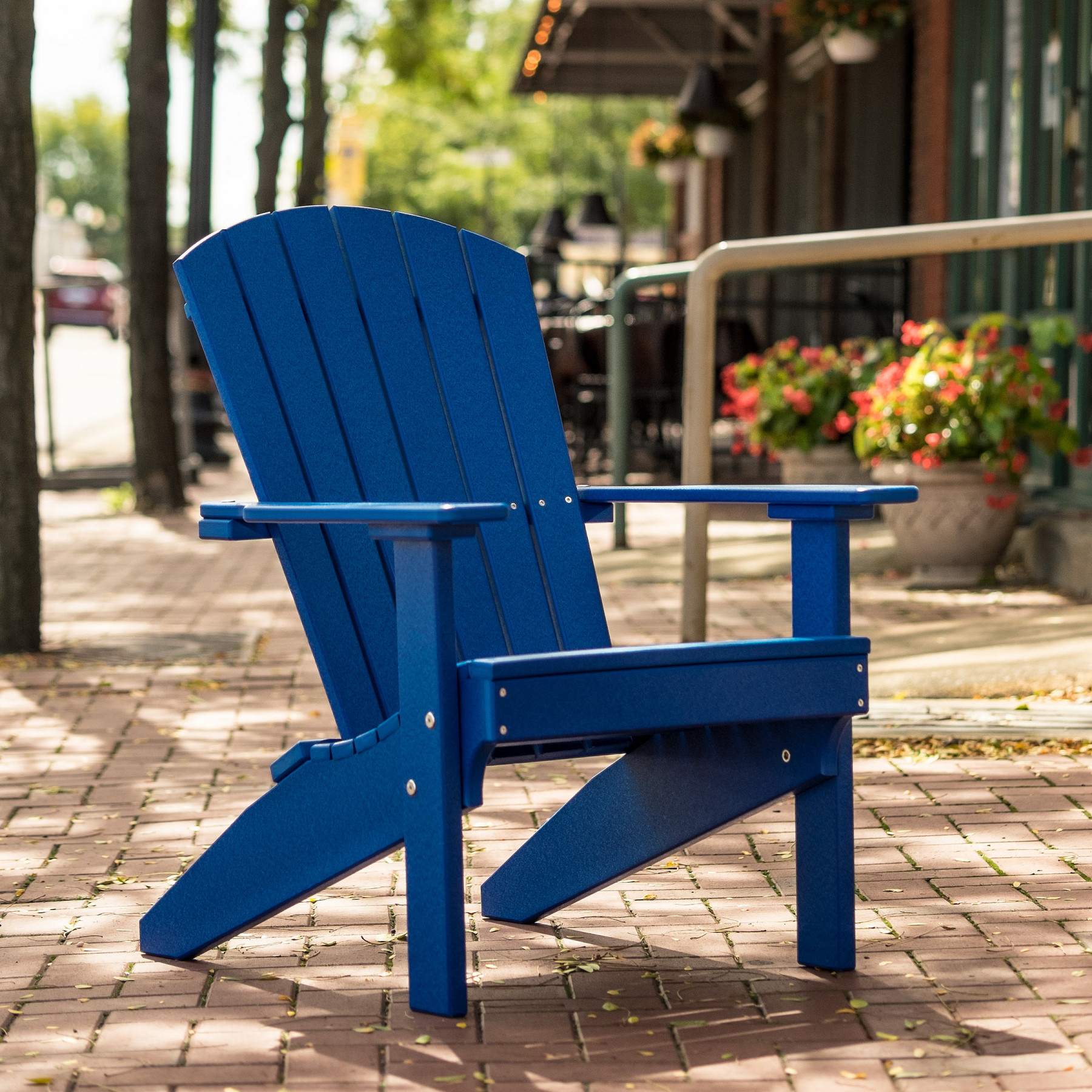 Luxcraft Crestville 174 Lakeside Adirondack Chair Poly