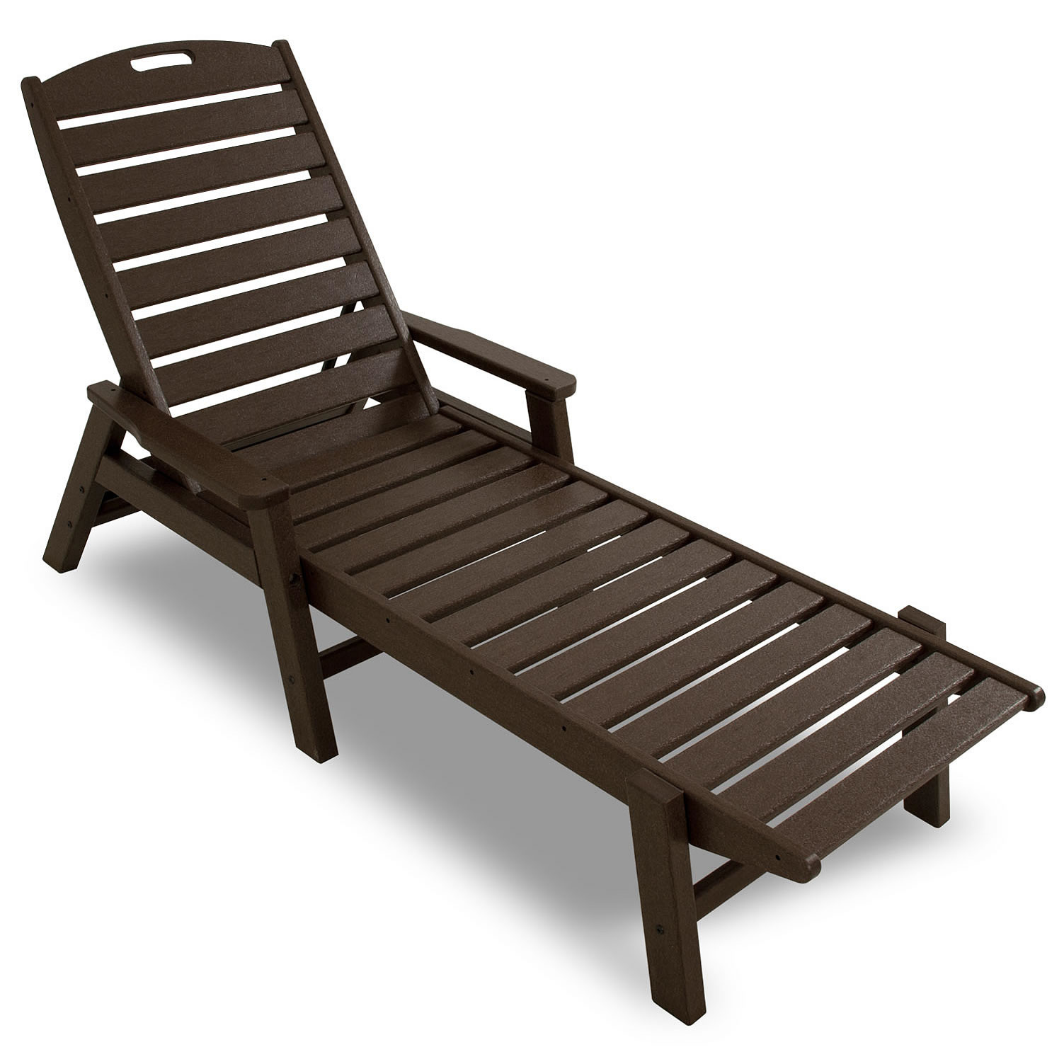 POLYWOOD Nautical Chaise Lounge Chaise Lounge Chairs Chairs