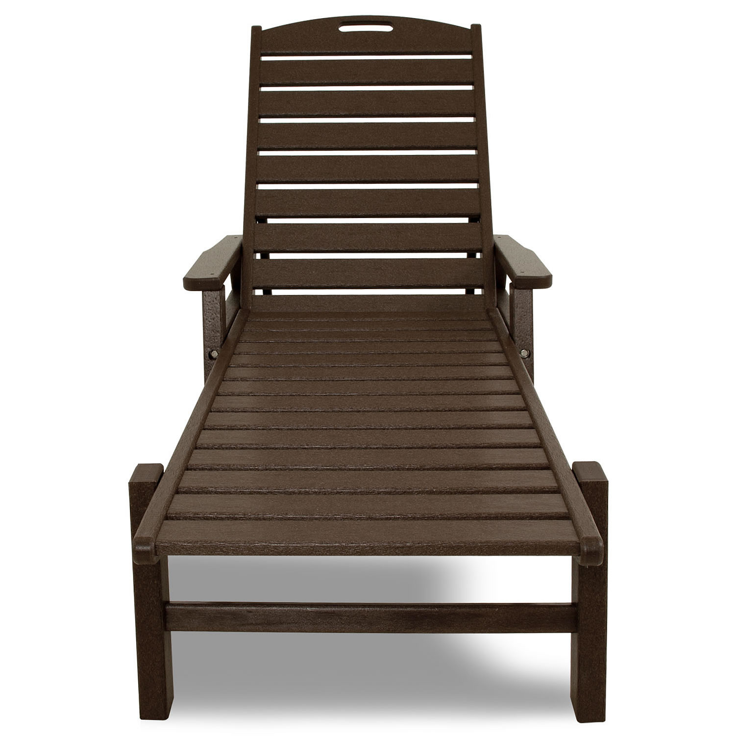 Polywood Outdoor Furniture >> POLYWOOD Nautical Chaise Lounge - Nautical Collection