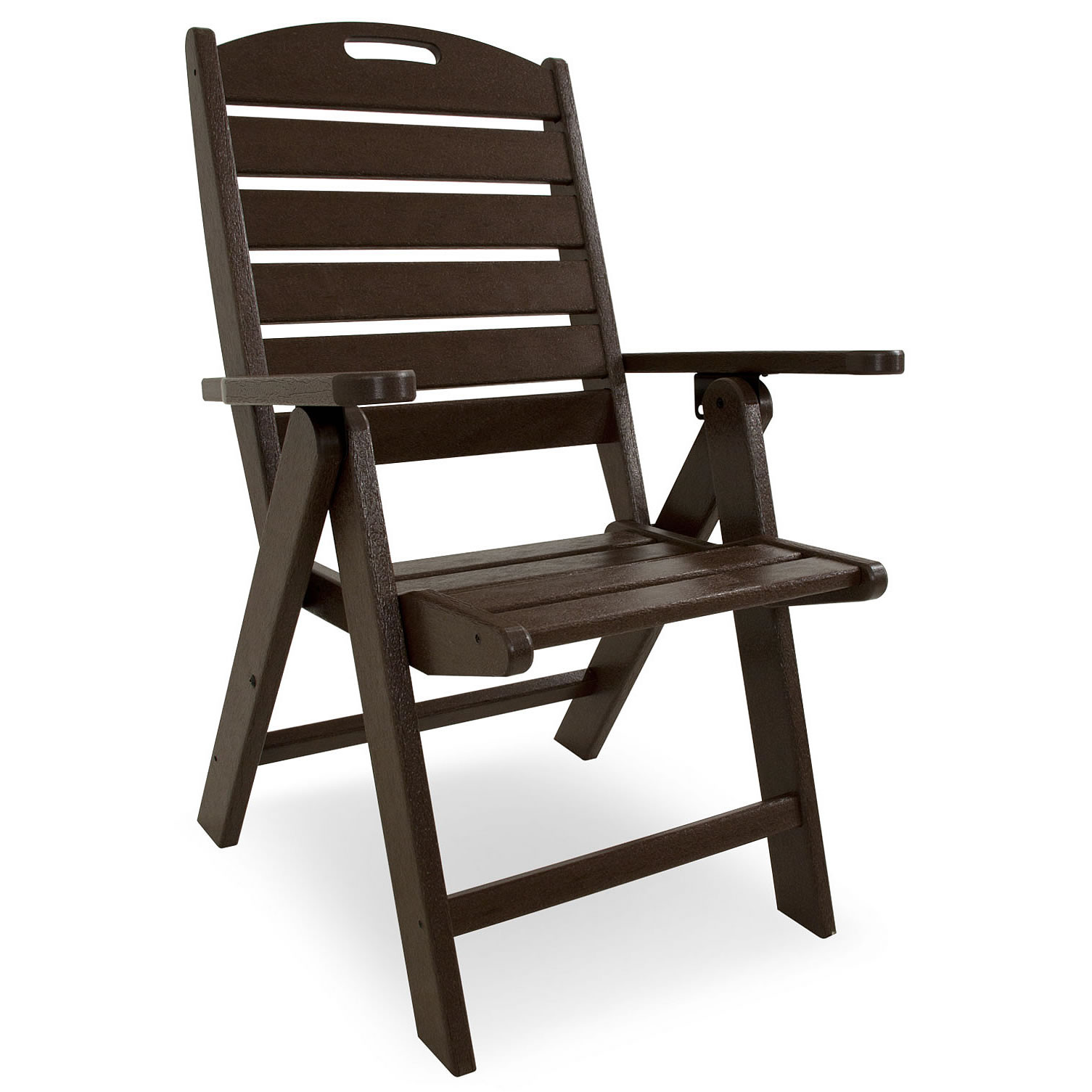 POLYWOOD Nautical Highback Chair Nautical Collection POLYWOOD Outdoor Fu