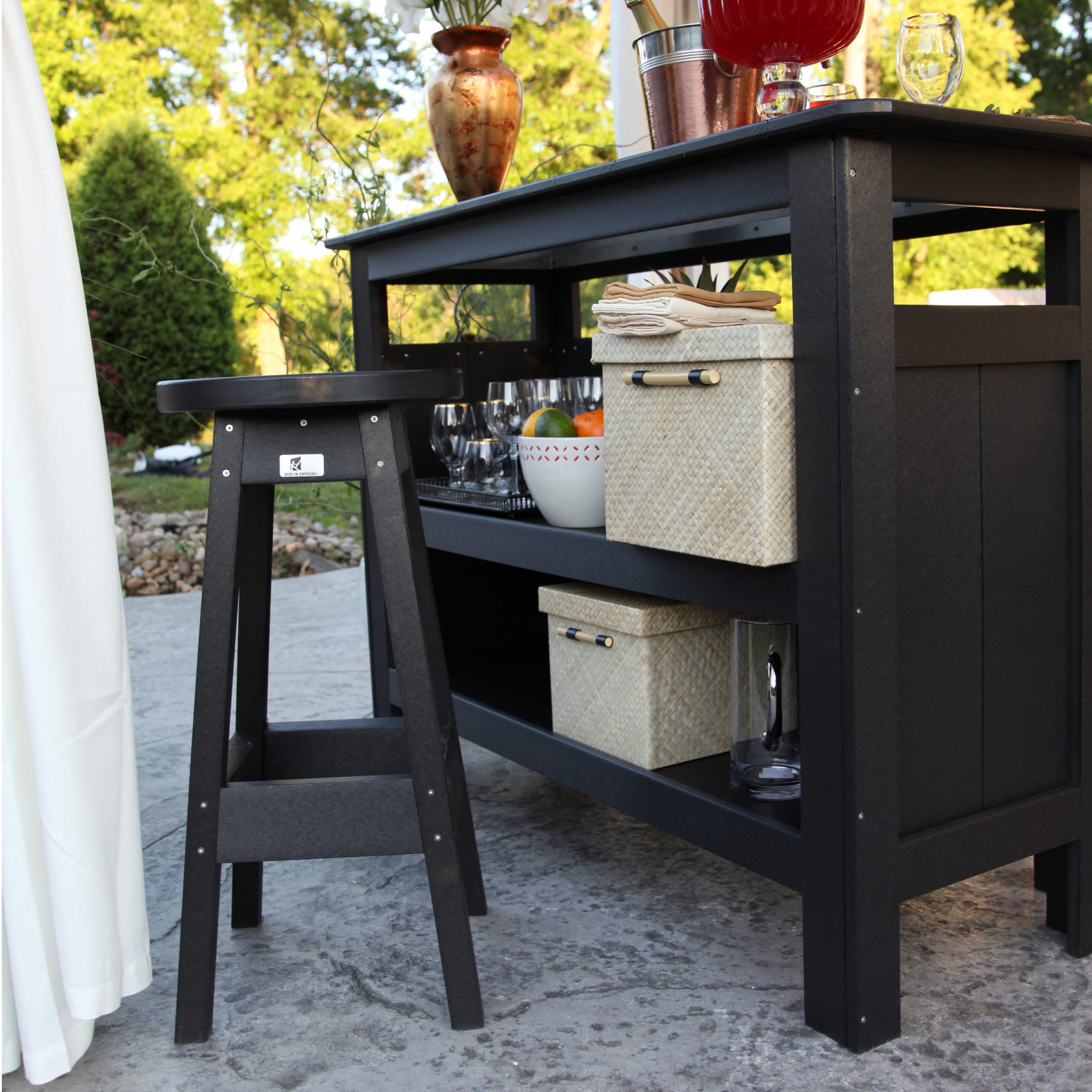 Berlin Gardens Outdoor Poly Bar Bars Benches Picnic Tables Berlin Gardens Poly Furniture