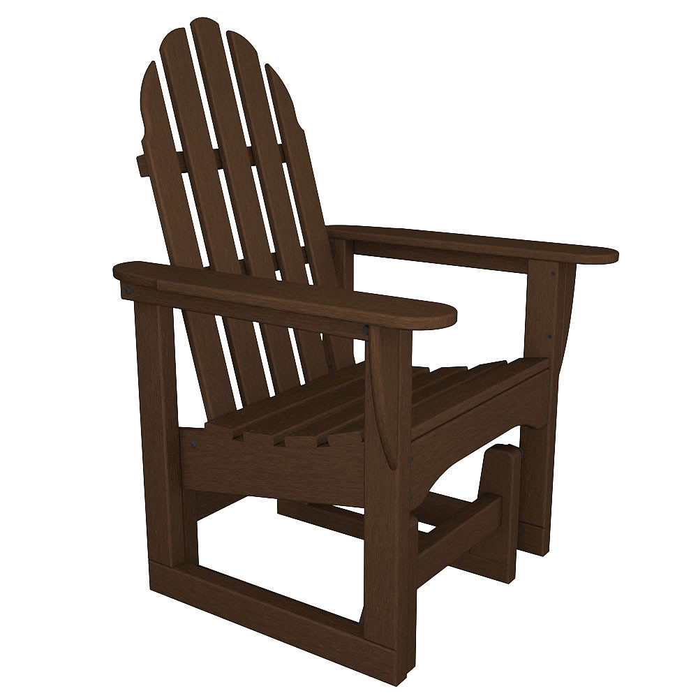 Polywood Adirondack Glider Chair Gliders Benches