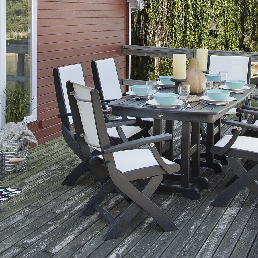 Polywood Coastal Folding Chair Coastal Polywood Outdoor Furniture Collections