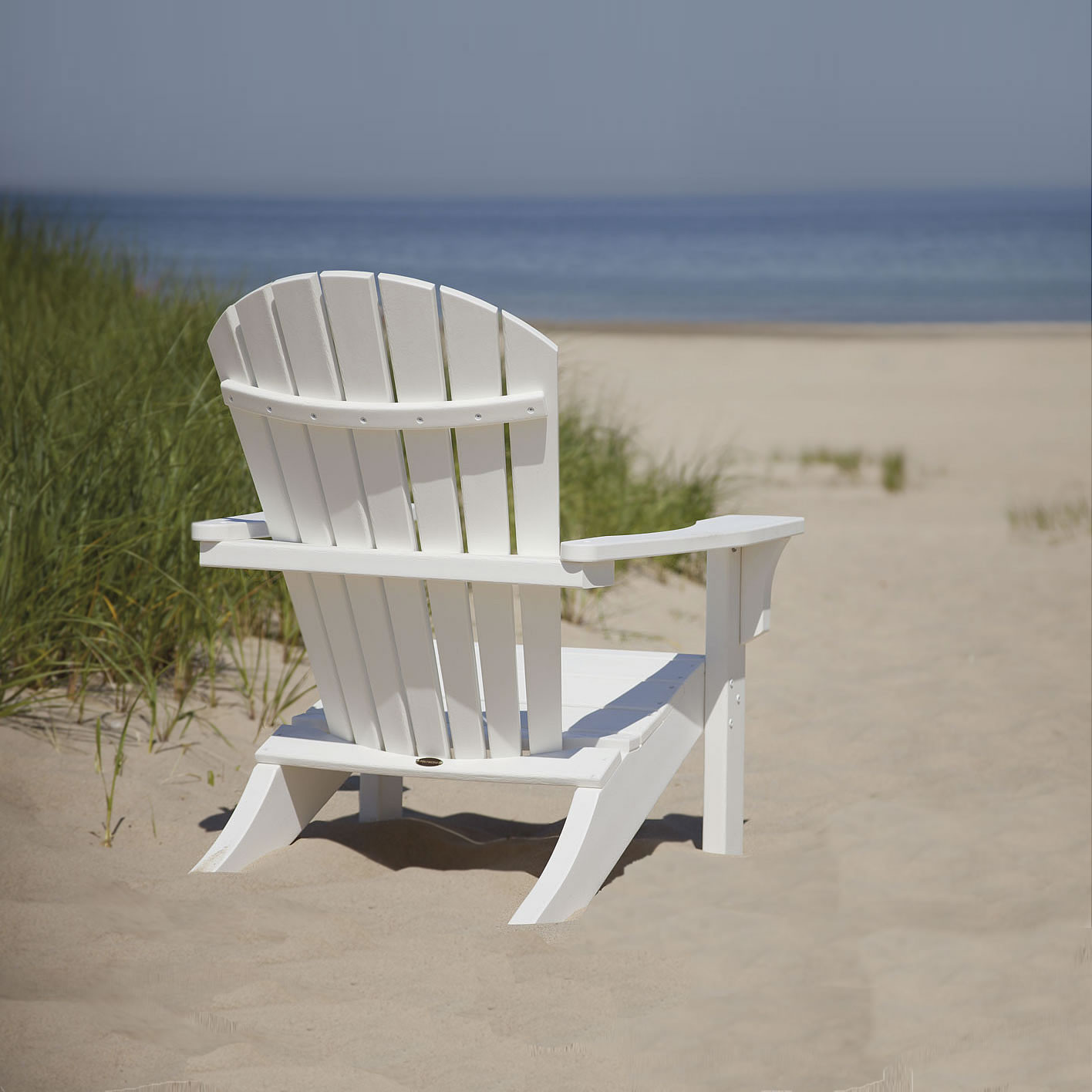 Exceptionnel POLYWOOD® Seashell Adirondack Chair