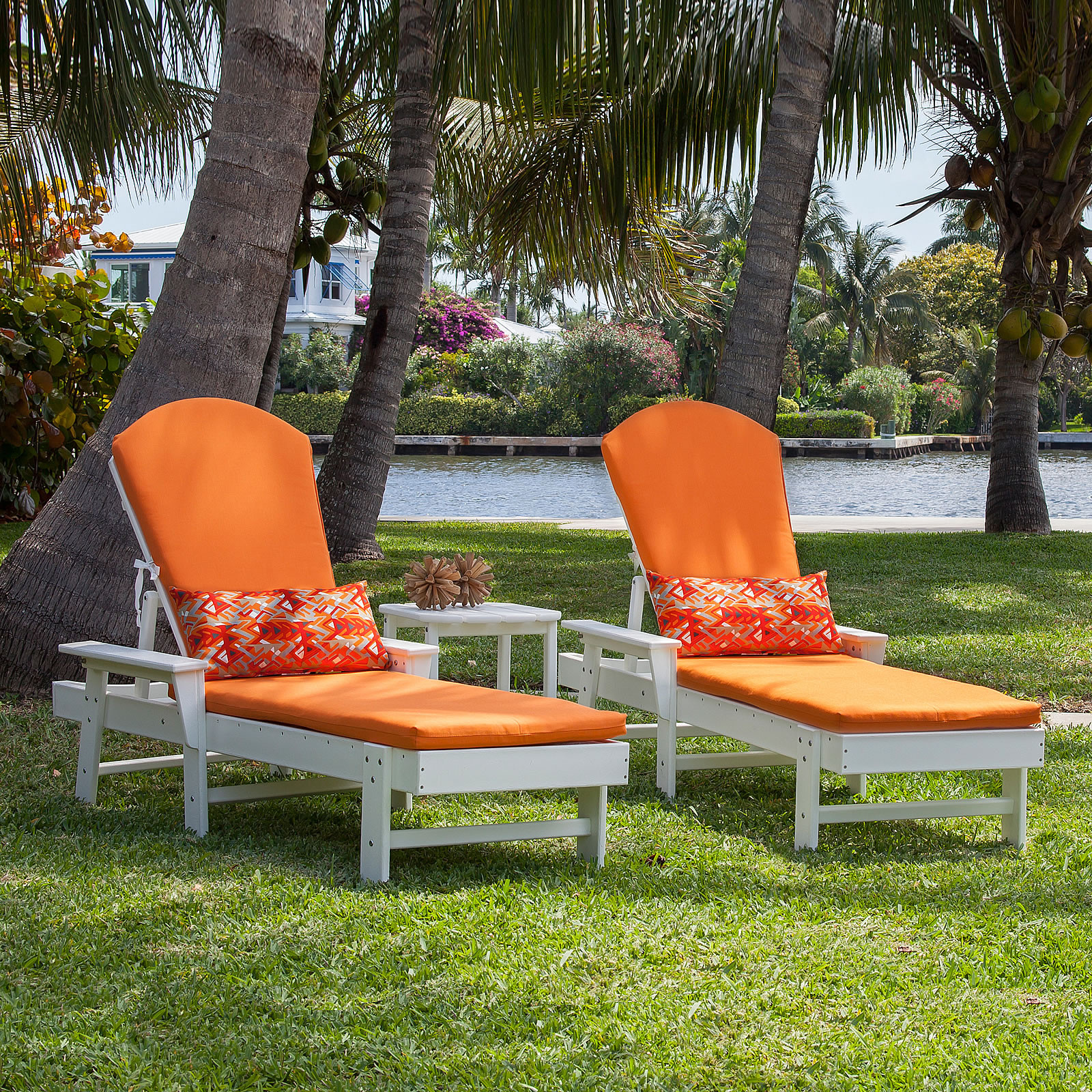 Polywood south beach chaise lounge south beach for Adirondack chaise