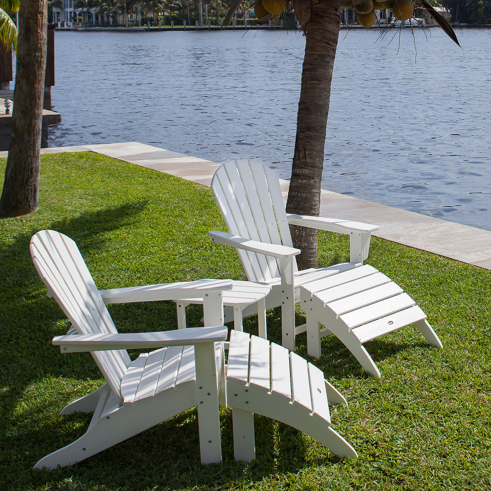 Polywood South Beach Adirondack Chair South Beach