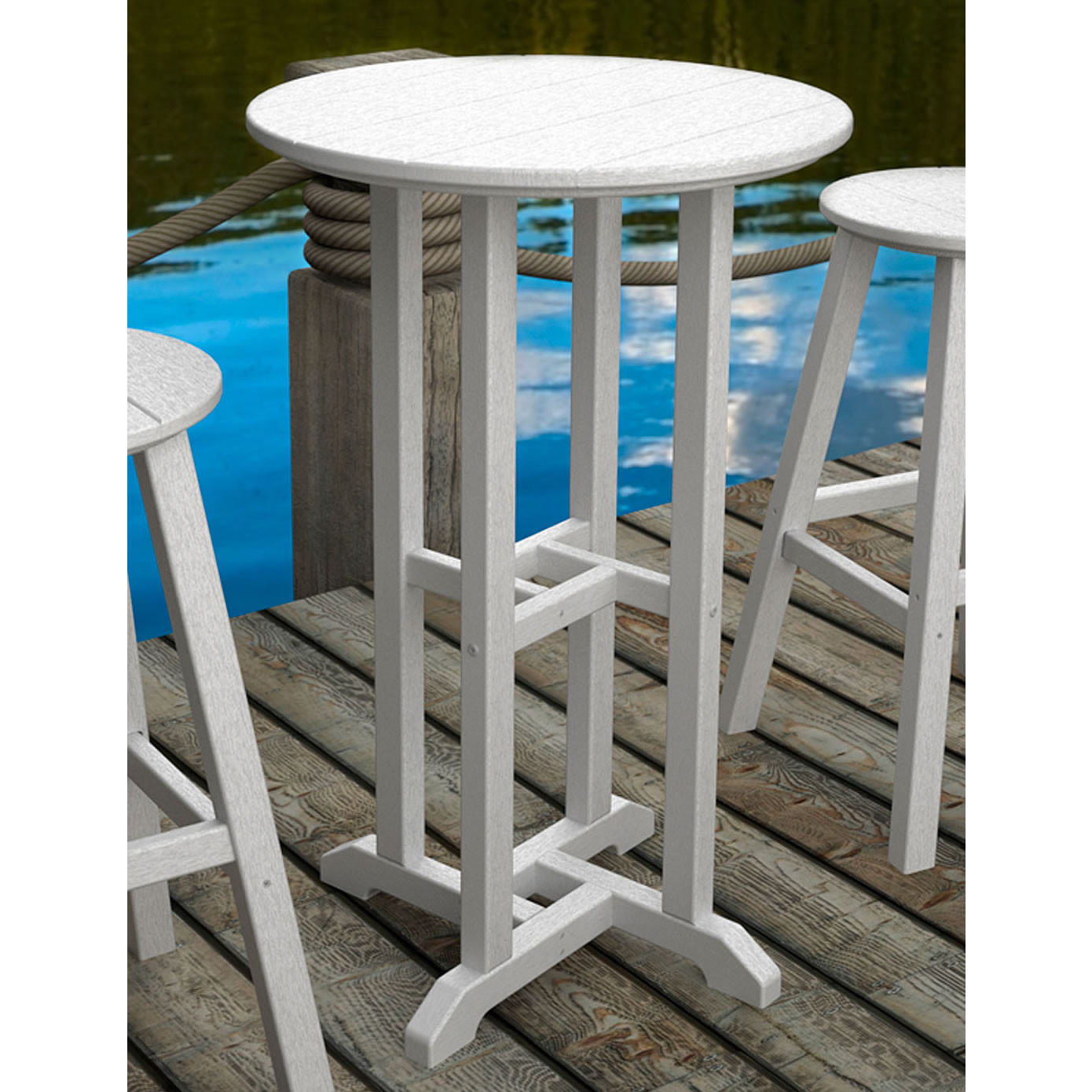 Outdoor Furniture Bar Height Table