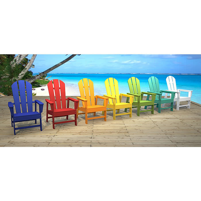 polywood original adirondack chair as seen on qvc - Polywood Adirondack Chairs