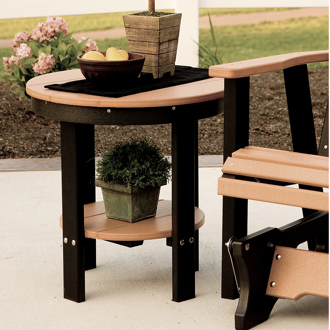Berlin Gardens Round End Table Berlin Gardens Poly Furniture Collections