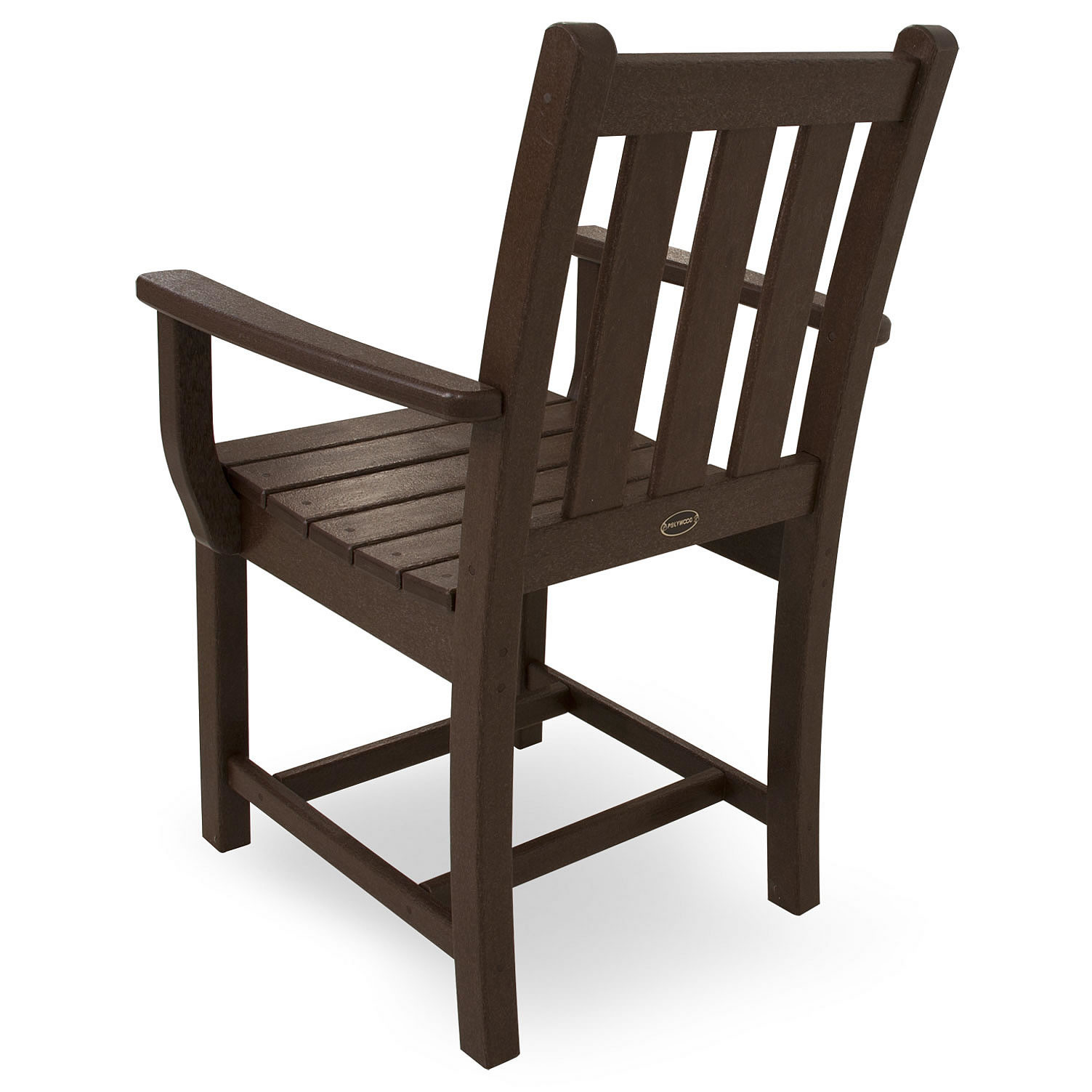 Polywood Traditional Garden Dining Arm Chair Traditional Garden Polywood Outdoor Furniture