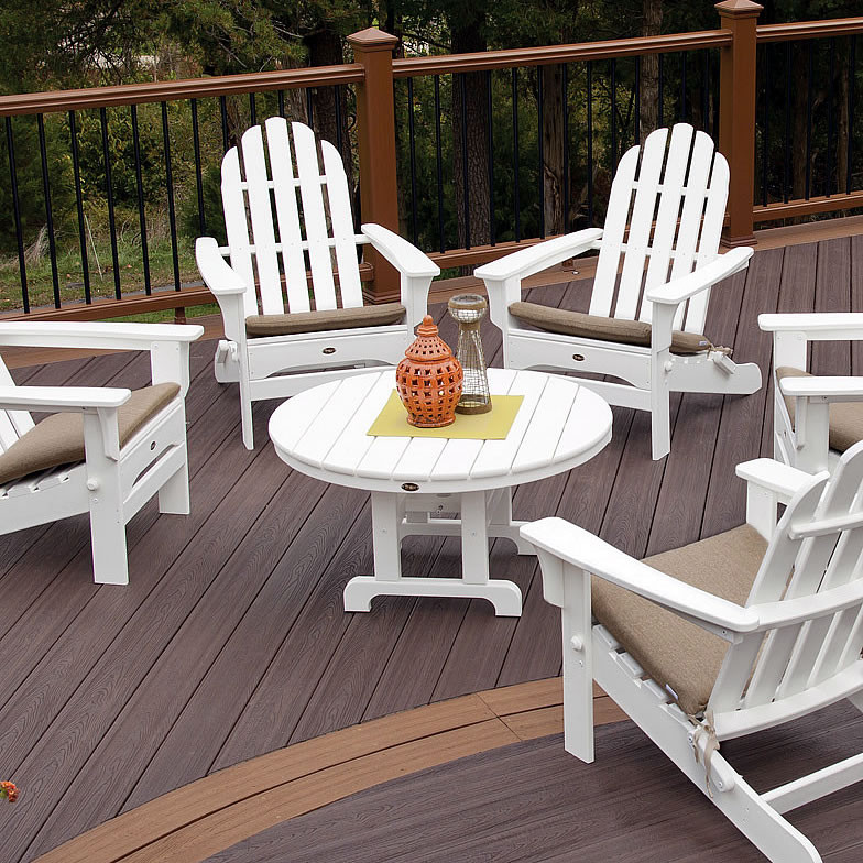 Trex® Outdoor Furniture Cape Cod 36 In Round Conversation Table