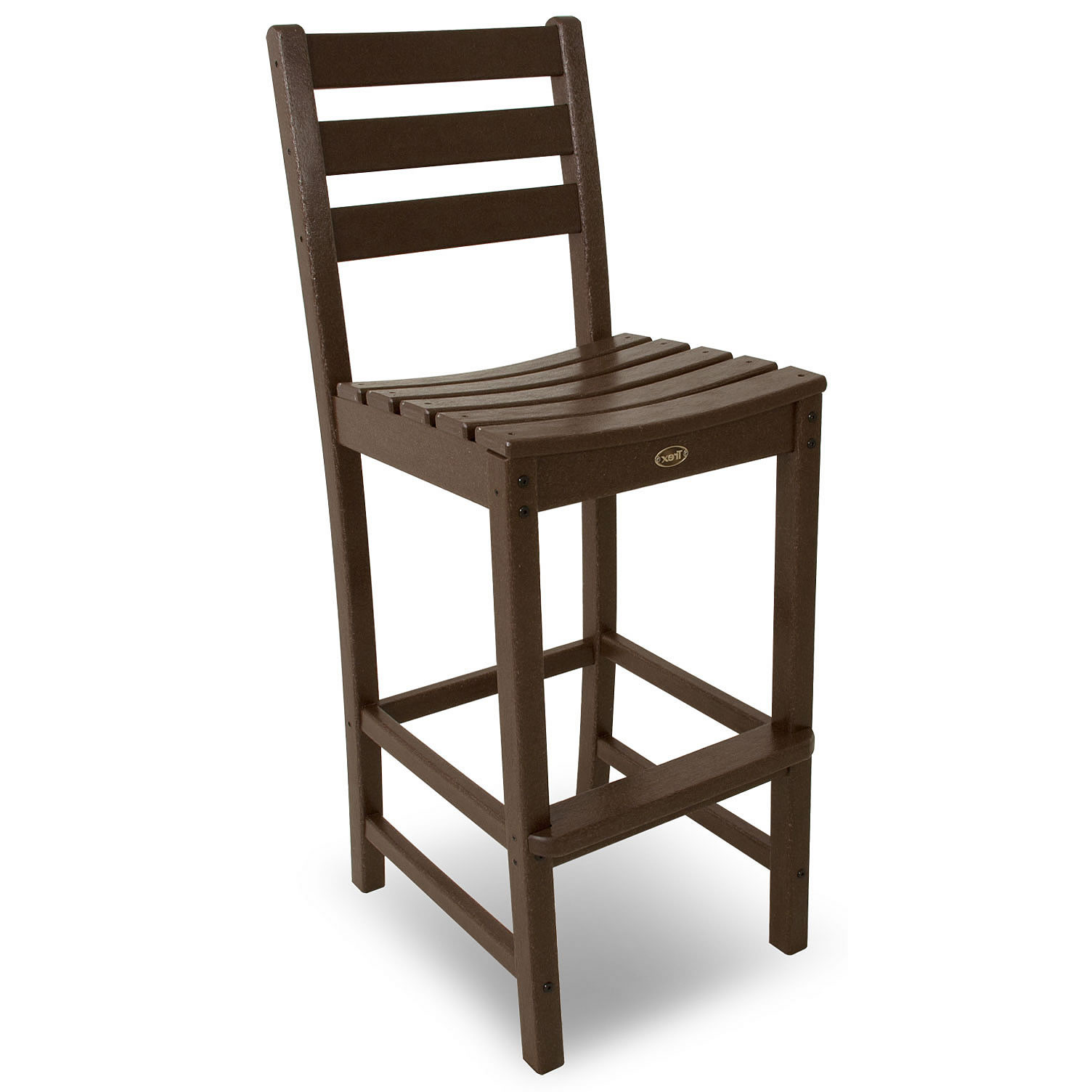 Trex Outdoor Furniture Monterey Bay Bar Height Side Chair Monterey Bay T