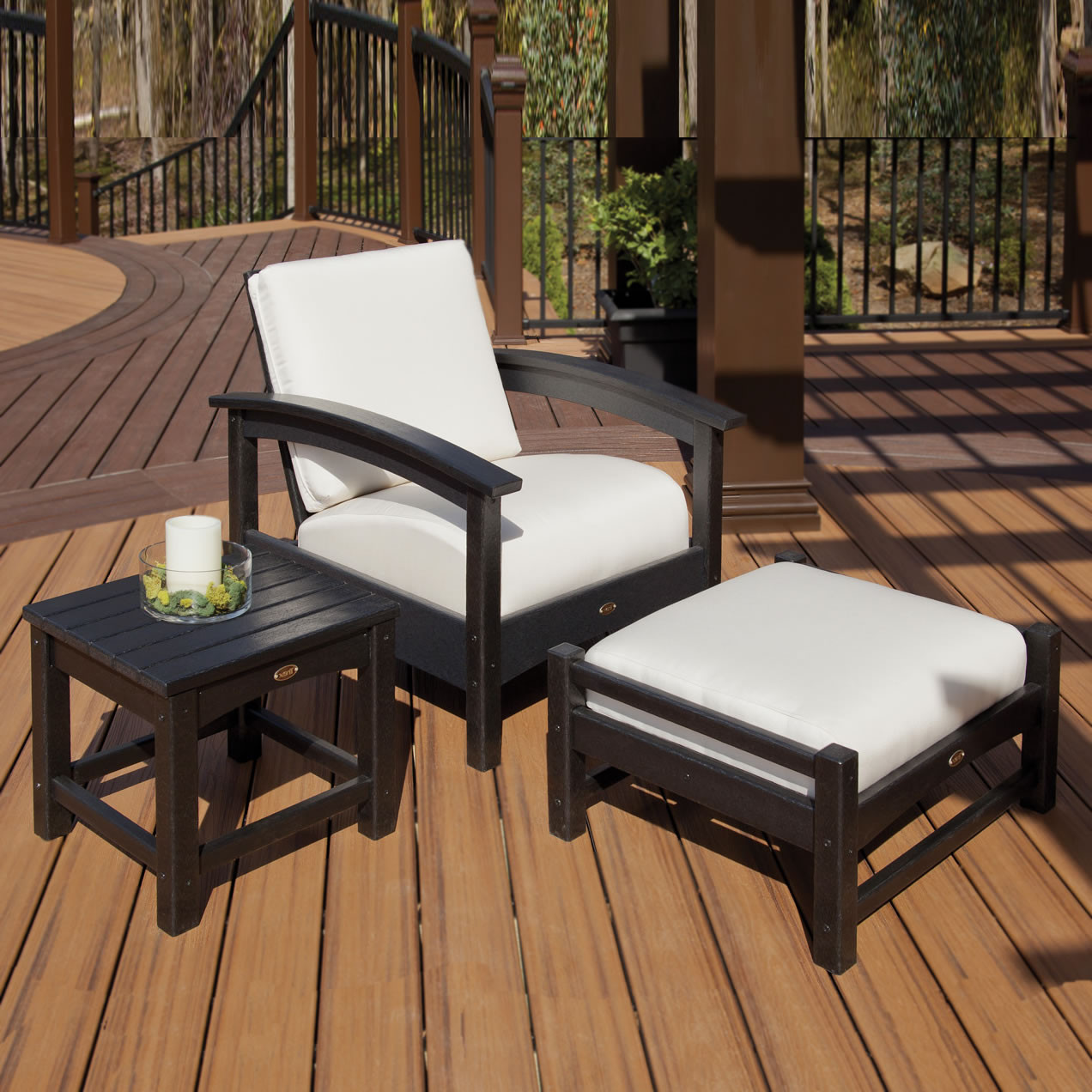 Outdoor Furniture Catalogs: Trex® Outdoor Furniture Rockport 18 In Club Side Table