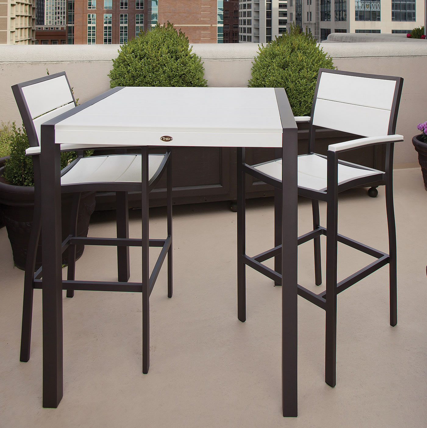 Trex® Outdoor Furniture Surf City 36 In Bar Table