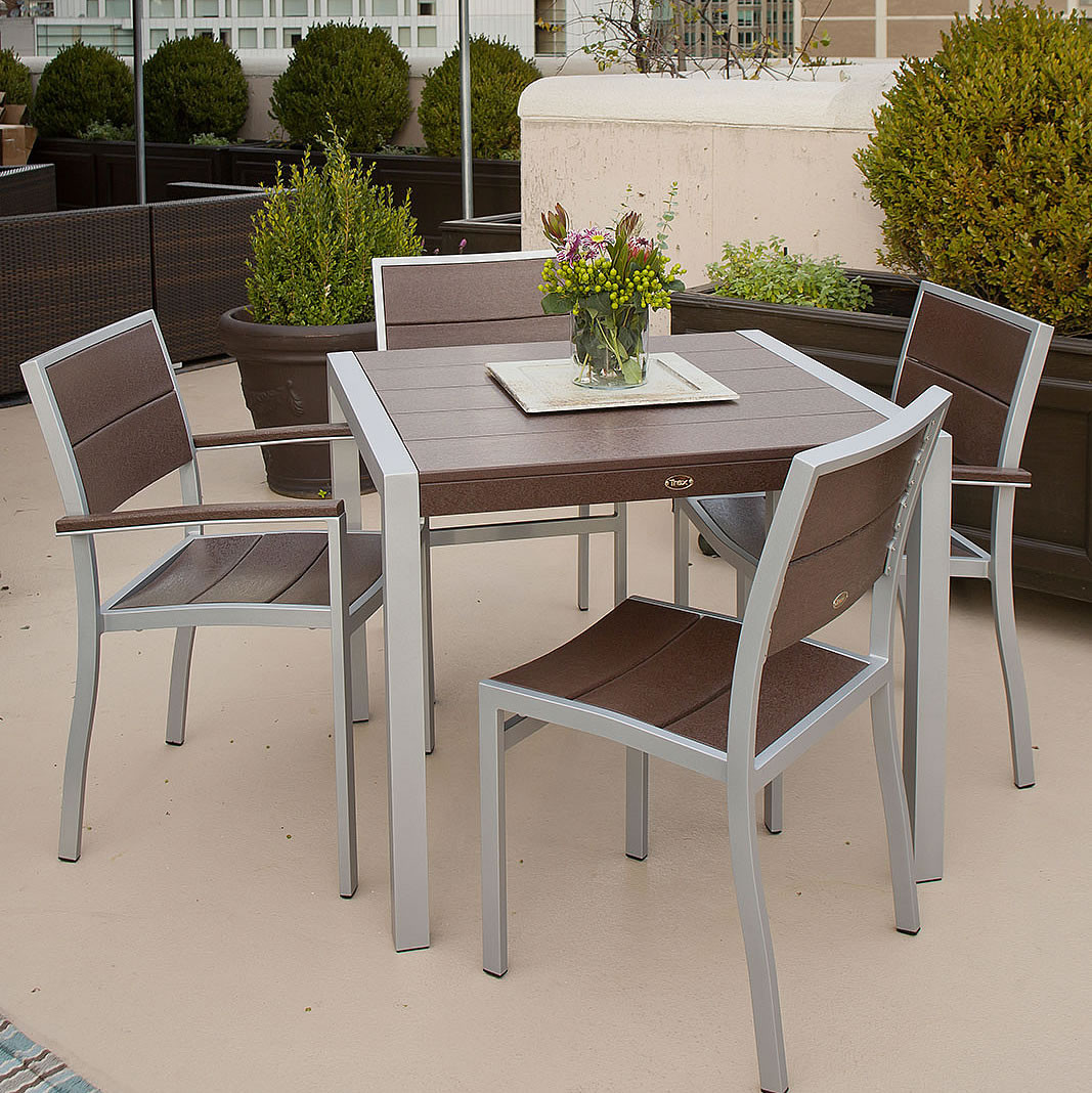 Trex Outdoor Furniture Surf City 36 In Dining Table