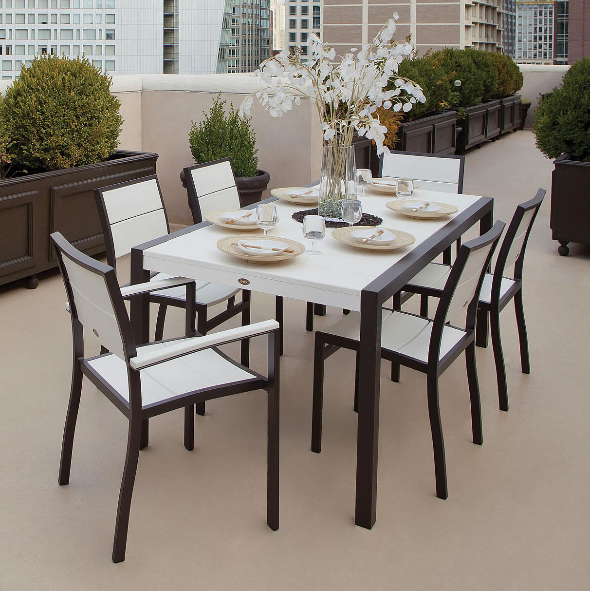 Attractive Trex® Outdoor Furniture Surf City Dining Arm Chair