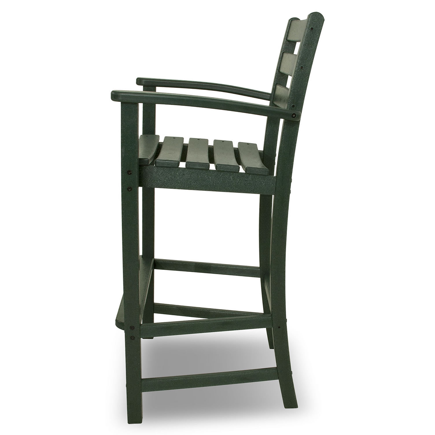 Counter Height Arm Chairs : Trex? Outdoor Furniture Monterey Bay Bar Height Arm Chair - Monterey ...