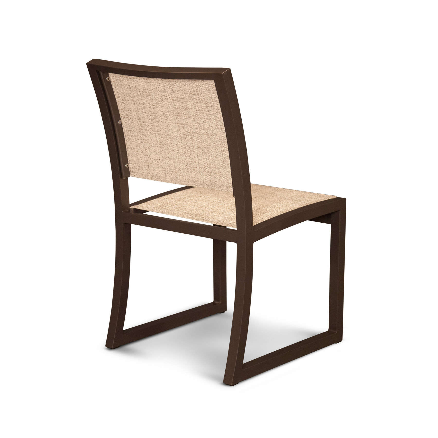 Trex 174 Outdoor Furniture Cube Dining Side Chair Parsons