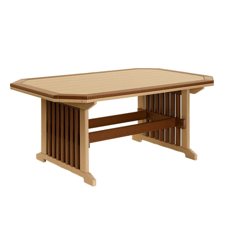 Amish Poly 3 x 5 Mission Table w/Border
