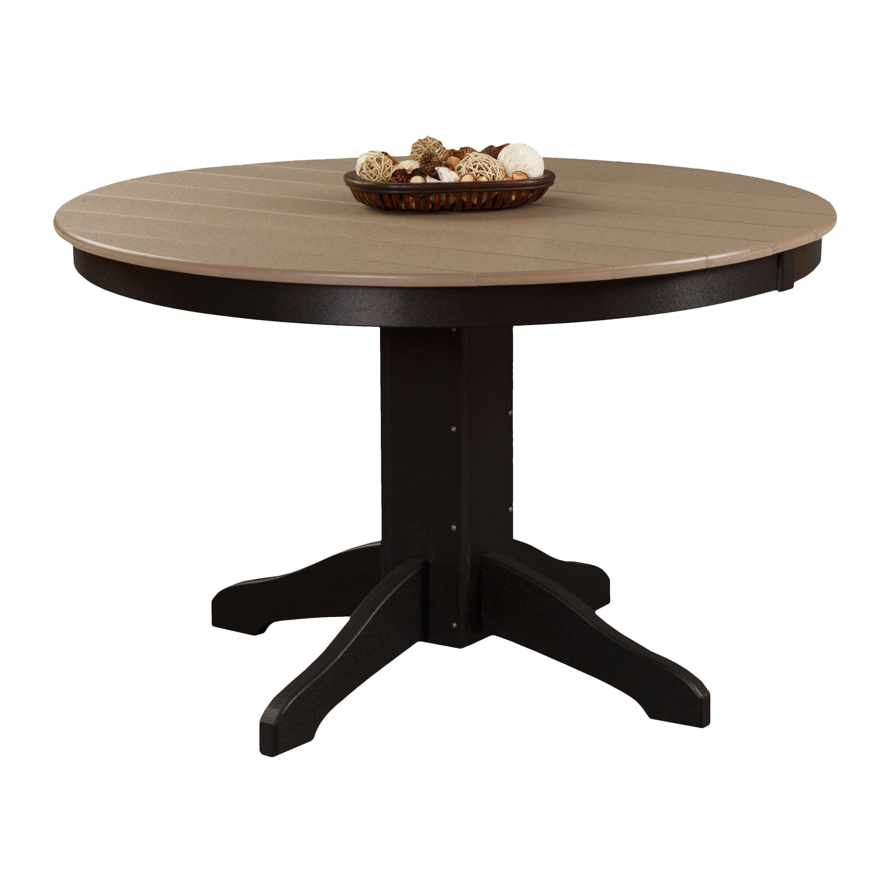 Poly 48in Round Dining Table