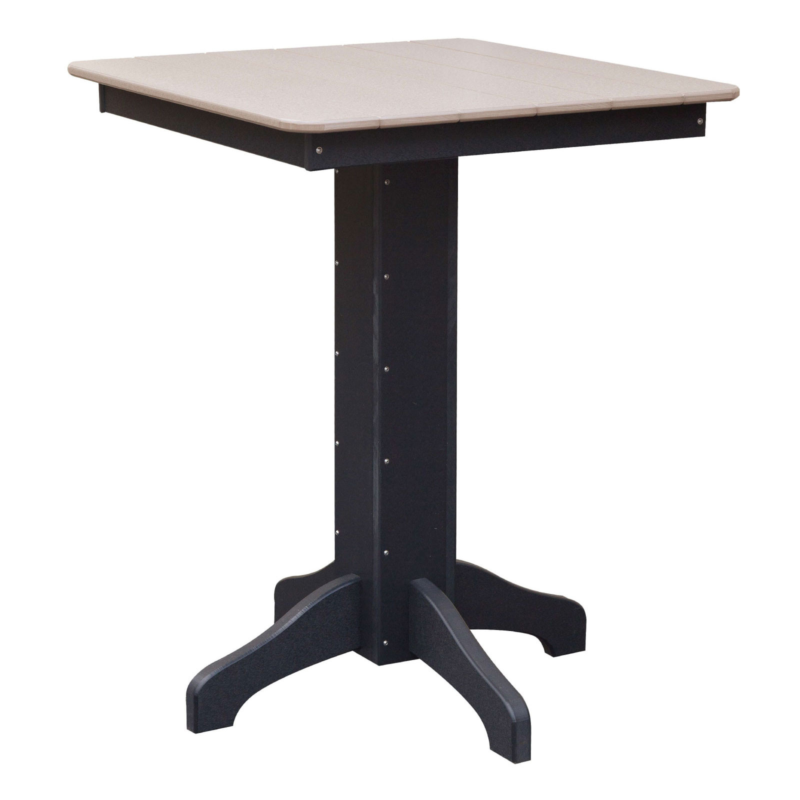 Poly 33in Square Patio Table