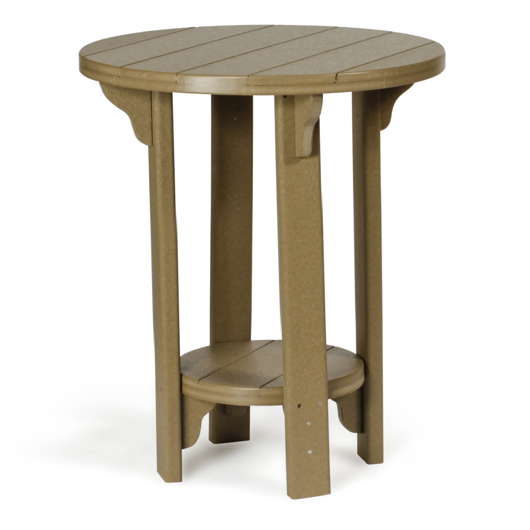 Amish Poly Bistro Counter Height Table