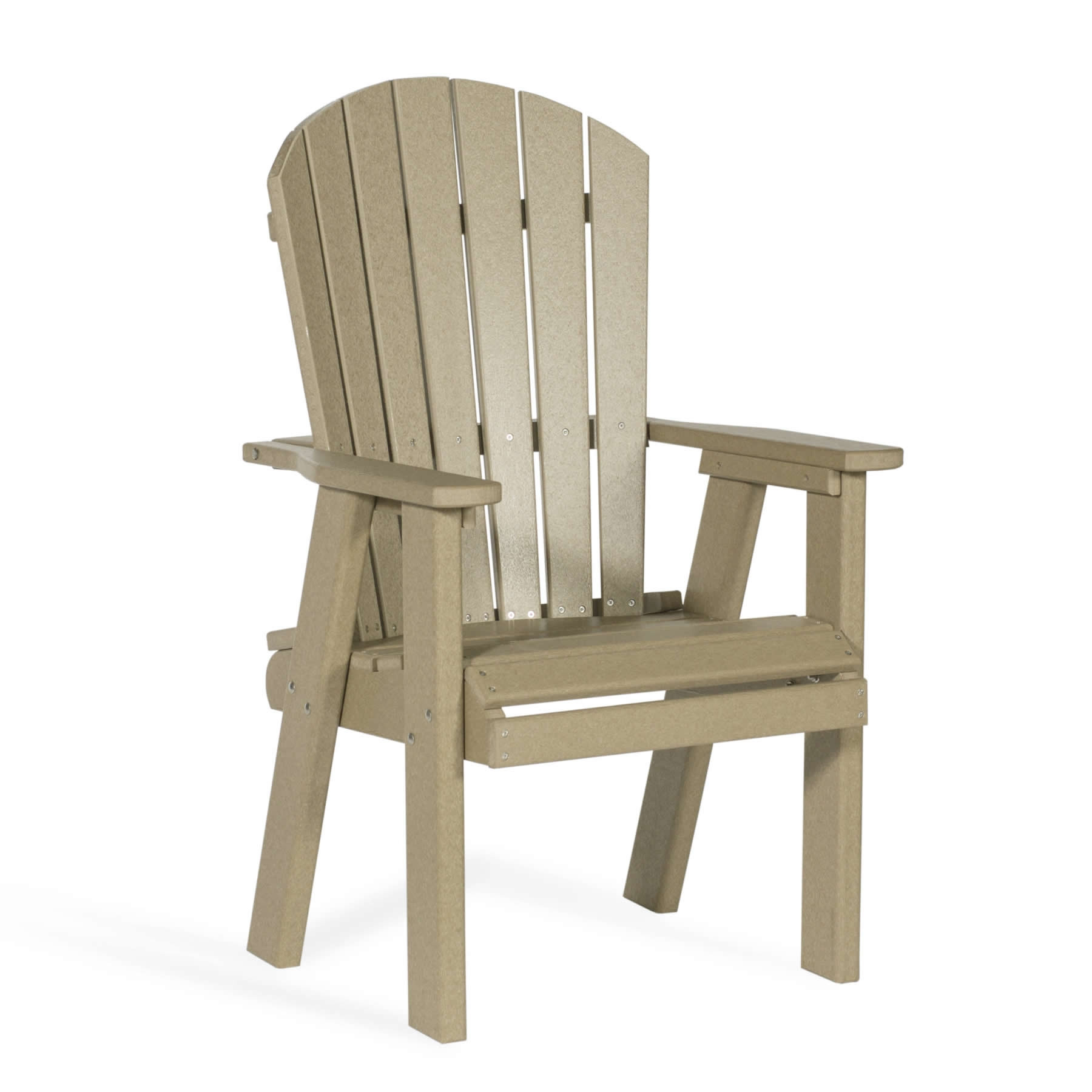 Amish Poly Fan-Back Dining Chair