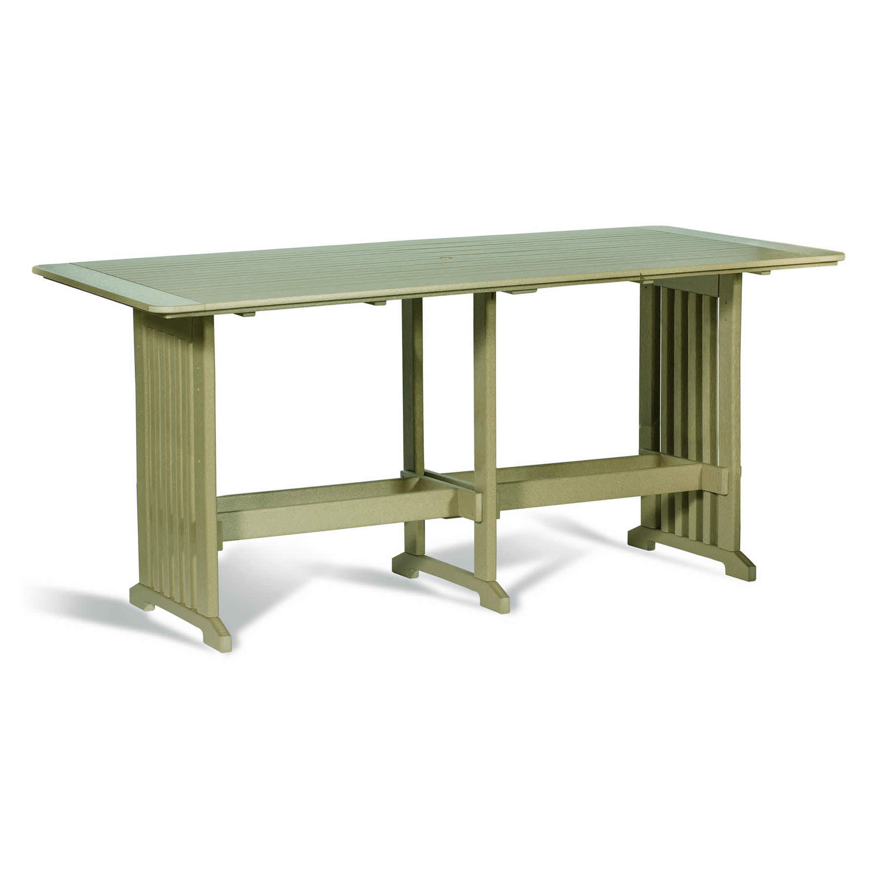 Amish 43 in x 96 in Poly Bar Table