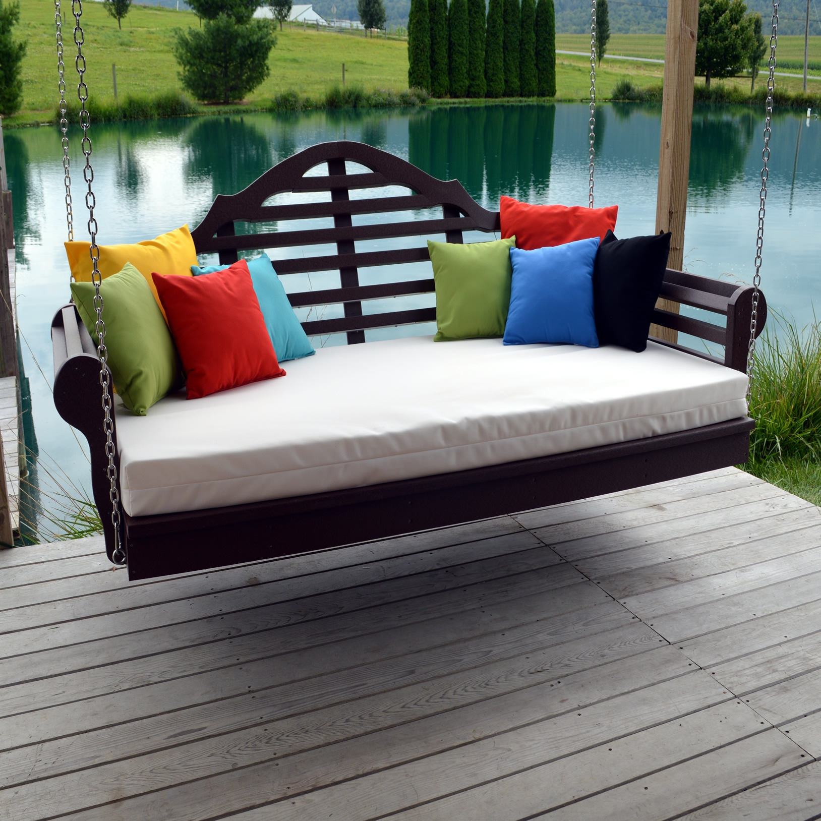 A&L Furniture 5 ft Poly Marlboro Swingbed
