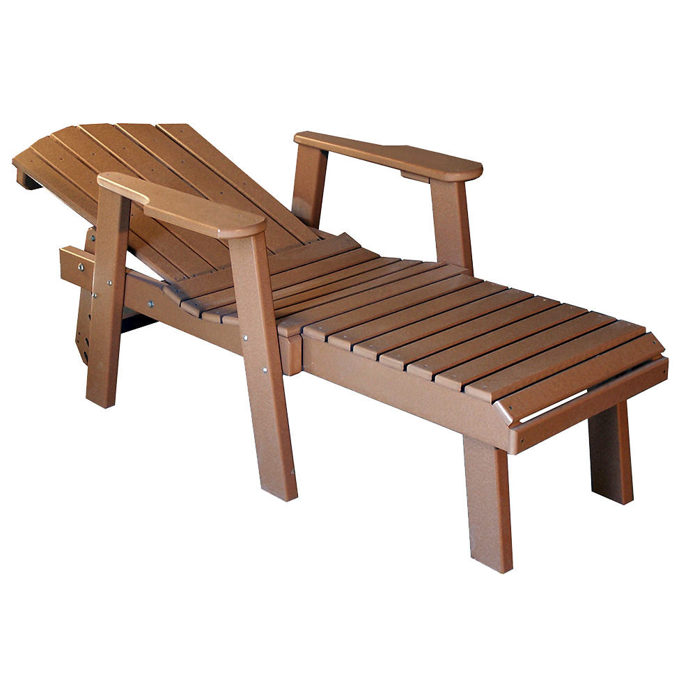 Amish Poly Classic Chaise Lounge