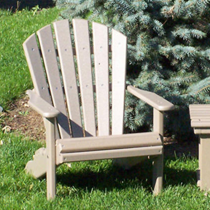 Amish Poly Children's Adirondack Chair