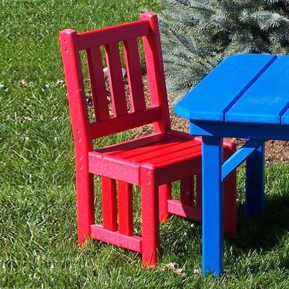 Amish Poly Children's Mission Chair