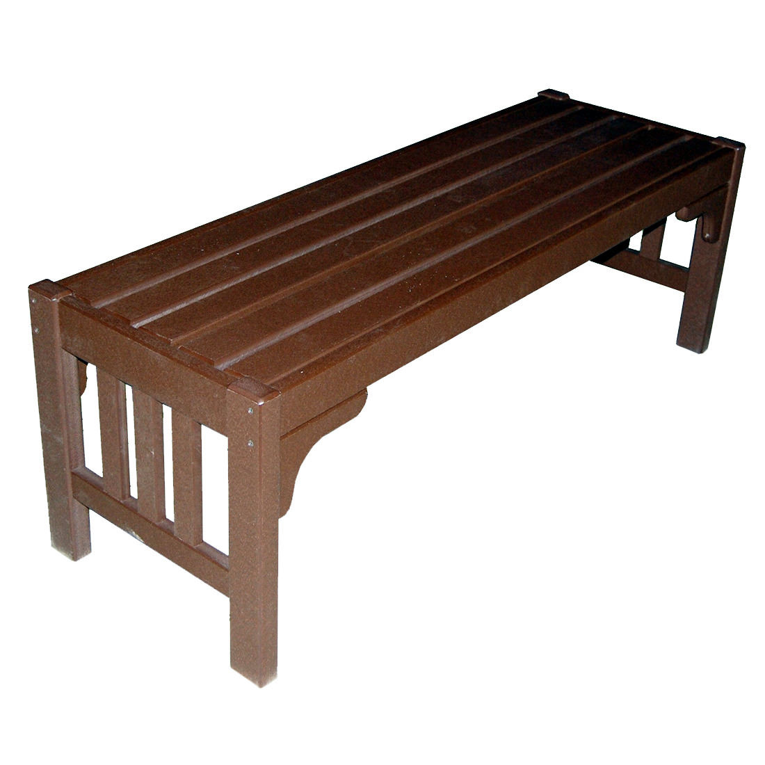 Amish Poly Mission 52in Parkside Bench