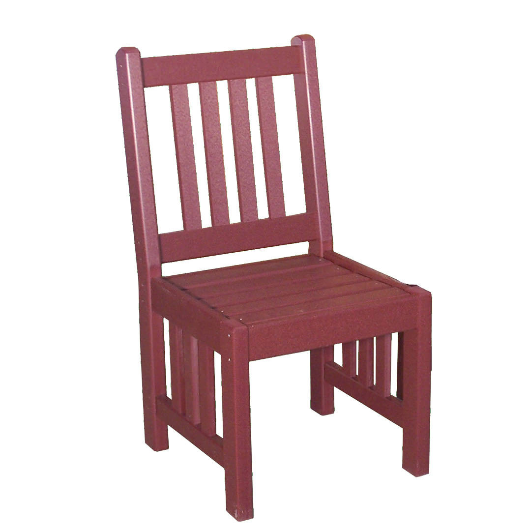 Amish Poly Mission 18in Lowback Chair