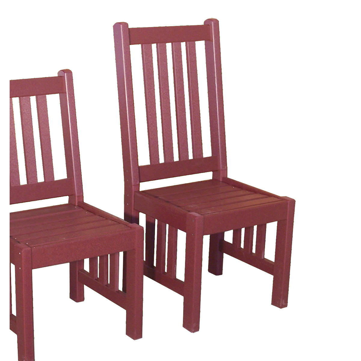 Amish Poly Mission 18in Highback Chair