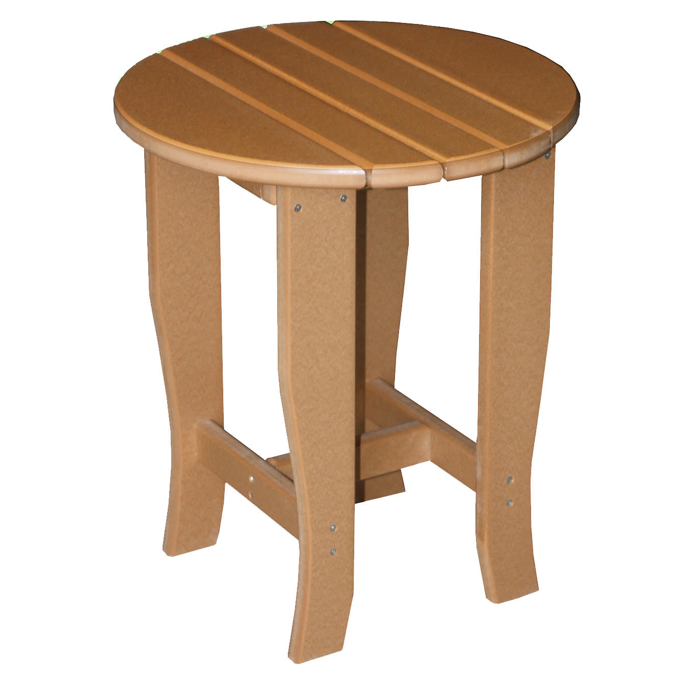 Amish Poly 19in R x 23in H End Table