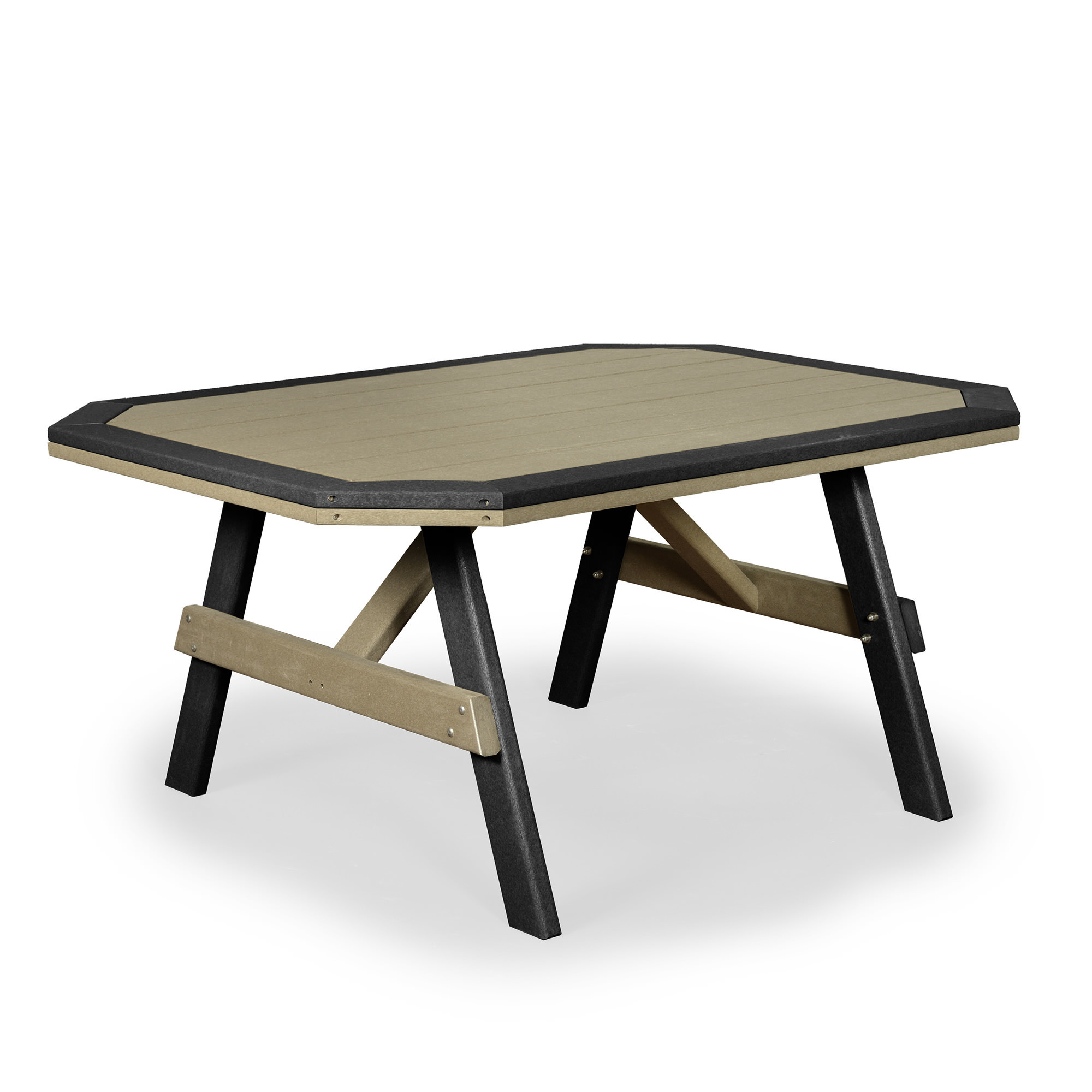 Amish Poly Wood Garden Table w/Border