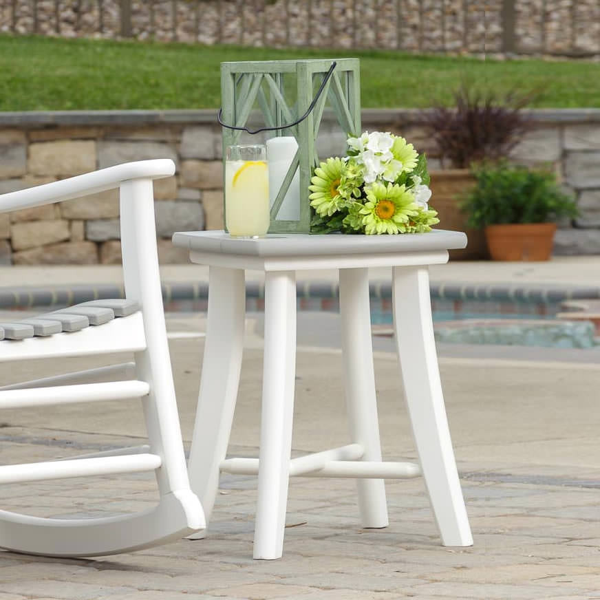 Amish Poly High Tide Side Table