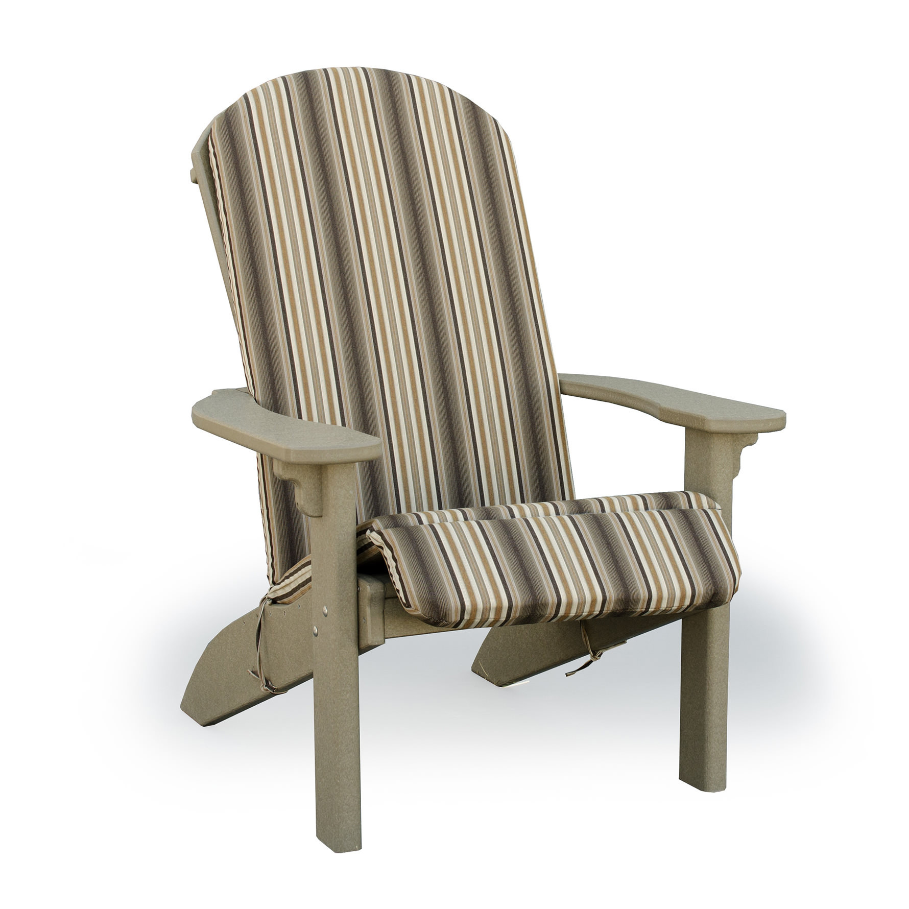 Amish Poly Cushions for SeaAira Adirondack Chair